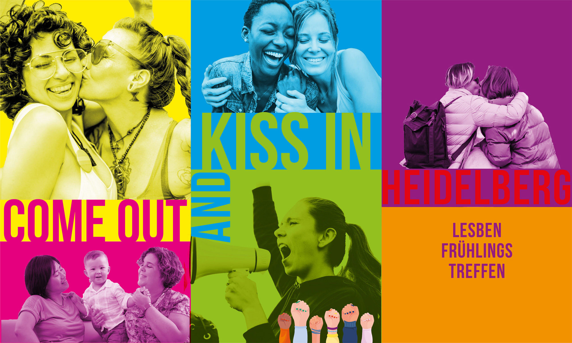 LFT2020 - Come Out and Kiss in Heidelberg